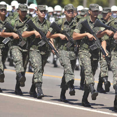 OS MILITARES NA POLÍTICA / BRASIL